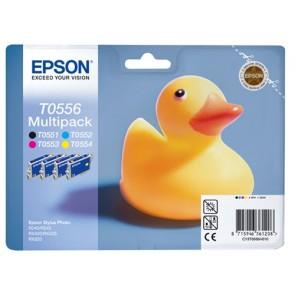 T05564010 Tintapatron multipack StylusPhoto RX425 nyomtatóhoz, EPSON b+c+m+y, 32ml