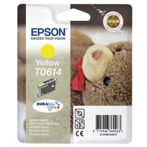 T06144010 Tintapatron Stylus D68, D88, D88PE nyomtatókhoz, EPSON sárga, 8ml