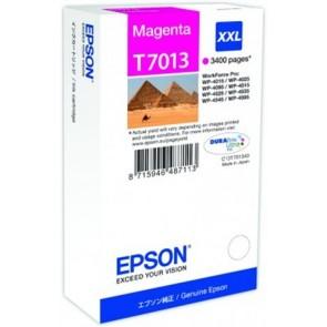 T70134010 Tintapatron Workforce Pro 4000, 4500 sorozat nyomtatókhoz, EPSON, magenta, 34,2 ml