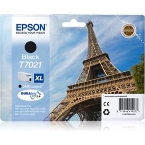 T70214010 Tintapatron WorkForce Pro 4015, 4095, 4525 nyomtatókhoz, EPSON fekete, 45,2 ml