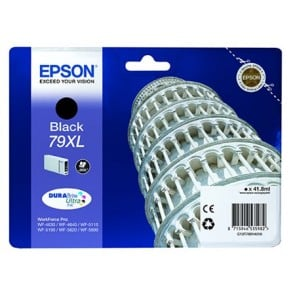 T79014010 Tintapatron WorkForce Pro WF-5620DWF nyomtatóhoz, EPSON, fekete, 41,8ml