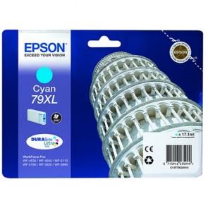 T79024010 Tintapatron WorkForce Pro WF-5620DWF nyomtatóhoz, EPSON kék, 17,1ml