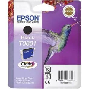 T08014011 Tintapatron StylusPhoto R265, R360, RX560 nyomtatókhoz, EPSON, fekete, 7,4ml