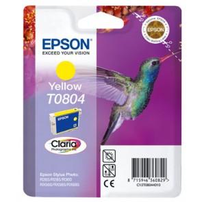 T08044011 Tintapatron StylusPhoto R265, R360, RX560 nyomtatókhoz, EPSON sárga, 7,4ml
