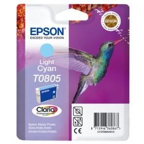 T08054011 Tintapatron StylusPhoto R265, R360, RX560 nyomtatókhoz, EPSON világos kék, 7,4ml