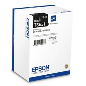 T8651 Tintapatron WP-M5690DWF, WP-M5190DW nyomtatókhoz, EPSON, fekete, 10k