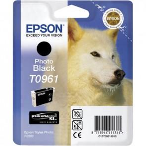 T09614010 Fotópatron StylusPhoto R2880 nyomtatóhoz, EPSON fekete, 11,4ml