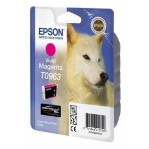 T09634010 Tintapatron StylusPhoto R2880 nyomtatóhoz, EPSON világos vörös, 11,4ml