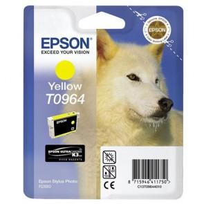 T09644010 Tintapatron StylusPhoto R2880 nyomtatóhoz, EPSON sárga, 11,4ml