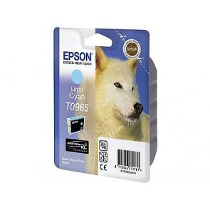 T09654010 Tintapatron StylusPhoto R2880 nyomtatóhoz, EPSON világos kék, 11,4ml