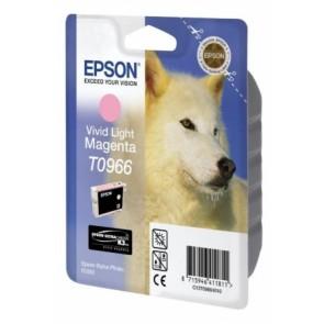 T09664010 Tintapatron StylusPhoto R2880 nyomtatóhoz, EPSON, élénk világos magenta, 11,4ml