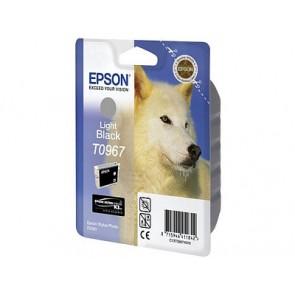 T09674010 Tintapatron StylusPhoto R2880 nyomtatóhoz, EPSON, világos fekete, 11,4ml