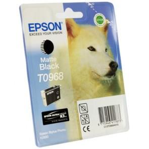 T09684010 Tintapatron StylusPhoto R2880 nyomtatóhoz, EPSON matt fekete, 11,4ml