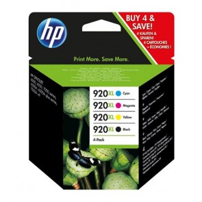 C2N92A Tintapatron multipack Officejet 6000, 6500 nyomtatókhoz HP 920xl b+c+m+y