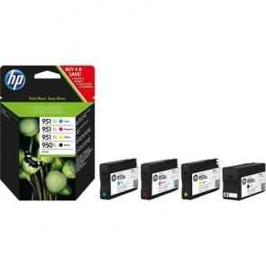 C2P43AE Tintapatron multipack OfficeJet Pro 8100 nyomtatóhoz, HP 950xl/951xl, 2,3K+3*1,5K