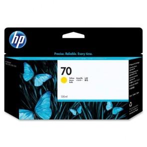 C9454A Fotópatron DesignJet Z2100, 3100 nyomtatókhoz, HP 70 sárga, 130ml