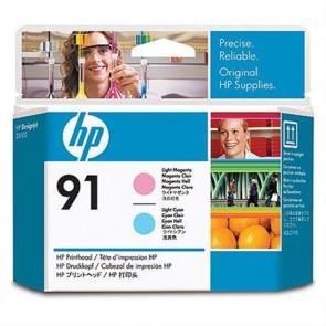 C9462A Tintapatron fej DesignJet Z6100 sorozat nyomtatóhoz, HP 91, világos cián, világos magenta