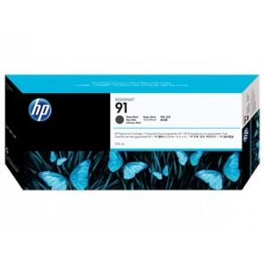 C9464A Tintapatron DesignJet Z6100, Z6100ps nyomtatókhoz, HP 91 matt fekete, 775ml
