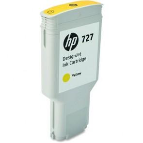 F9J78A Tintapatron DesignJet T1500, T2500, T920, T930 nyomtatókhoz, HP 727, sárga, 300ml