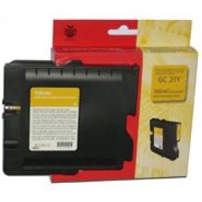 405535 Gélpatron Aficio GX 3000, 3050N nyomtatókhoz, RICOH Type GC21 sárga