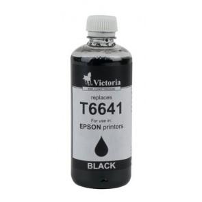 T66414 Tinta, L100, 200mfp nyomtatókhoz, VICTORIA, fekete, 100ml