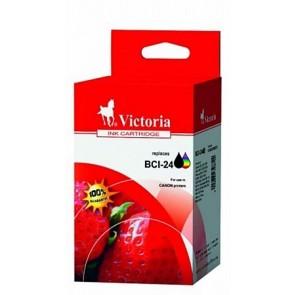 BCI-24 Tintapatron multipack i250, 320 nyomtatókhoz, VICTORIA fekete 9ml+színes 3*5ml