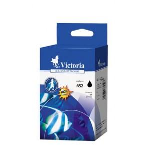 F6V25AE Tintapatron Deskjet Ink Advantage 1115 nyomtatókhoz, VICTORIA 652 fekete, 12ml