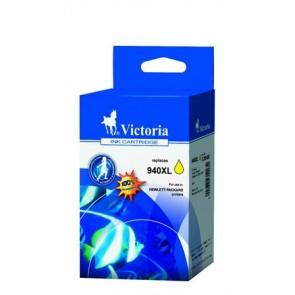 C4909AE Tintapatron OfficeJet Pro 8000, 8500 nyomtatókhoz, VICTORIA 940XL sárga, 28ml