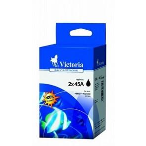 51645 Tintapatron multipack DeskJet 710c, 720c nyomtatókhoz, VICTORIA fekete, 2*42ml