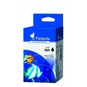 C6656AE Tintapatron DeskJet 450c, 450cb, 5150 nyomtatókhoz, VICTORIA 56 fekete, 21ml