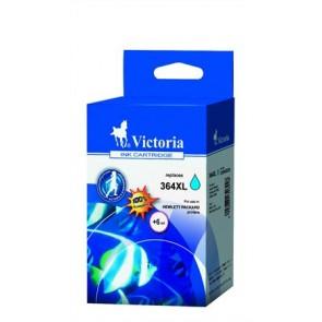 CB323EE Tintapatron Photosmart C5380, C6380 nyomtatókhoz, VICTORIA 364XL kék, 12ml