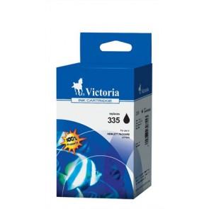 CB335EE Tintapatron DeskJet D4260, OfficeJet J5780 nyomtatókhoz, VICTORIA 350 fekete, 21ml