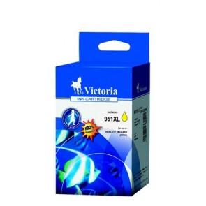 CN048AE Tintapatron OfficeJet Pro 8100 nyomtatóhoz, VICTORIA 951XL sárga, 20ml