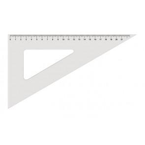 Háromszög vonalzó, műanyag, 60 °, KOH-I-NOOR