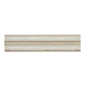 Betűsablon, 2,5 mm, KOH-I-NOOR