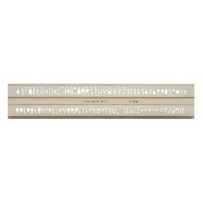 Betűsablon, 7 mm, KOH-I-NOOR