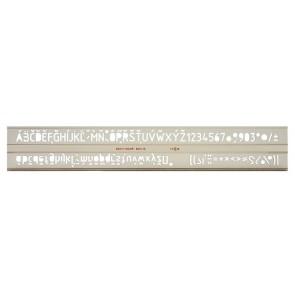 Betűsablon, 10 mm, KOH-I-NOOR