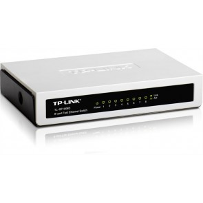 "Switch, 8 port, 10/100 Mbps, TP-LINK ""TL-SF1008D"""