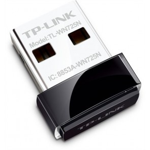 "USB WiFi adapter, mini, 150 Mbps, TP-LINK ""TL-WN725N"""