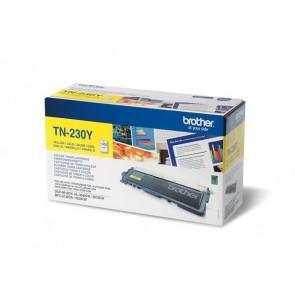 TN230Y Lézertoner HL 3040CN, 3070CW nyomtatókhoz, BROTHER, sárga, 1,4k
