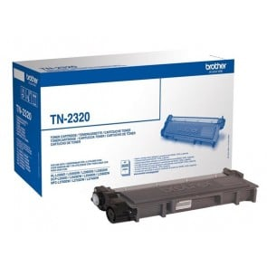 TN2320 Lézertoner HL L2300D, DCP L2500D nyomtatókhoz, BROTHER, fekete, 2,6k