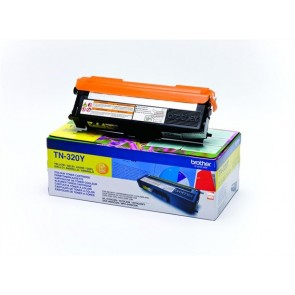 TN320Y Lézertoner HL 4150CDN, 4570CDW nyomtatókhoz, BROTHER, sárga, 1,5k