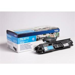 TN321C Lézertoner HL L8250CDN, DCP L8400CDN nyomtatókhoz, BROTHER, cián, 1,5k