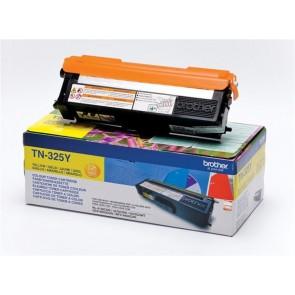 TN325Y Lézertoner HL 4150CDN, 4570CDW nyomtatókhoz, BROTHER sárga, 3,5k