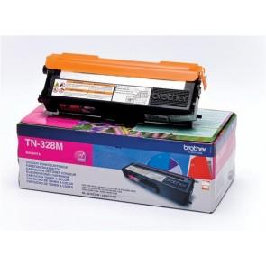 TN328M Lézertoner HL 4570CDW, 4570CDWT nyomtatókhoz, BROTHER, magenta, 6k