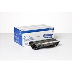TN3330 Lézertoner HL 5440D, 5450DN, 5470DW nyomtatókhoz, BROTHER, fekete, 3k