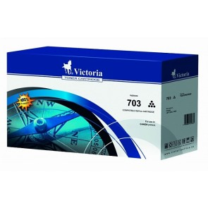CRG-703B Lézertoner i-SENSYS LBP 2900, 3000 nyomtatókhoz, VICTORIA, fekete, 2k