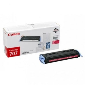 CRG-707M Lézertoner i-SENSYS LBP 5000, 5100 nyomtatókhoz, CANON, magenta, 2,5k