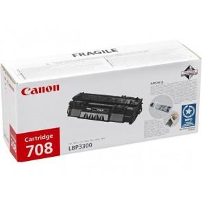 CRG-708S Lézertoner i-SENSYS LBP 3300, 3360 nyomtatókhoz, CANON fekete, 2,5k