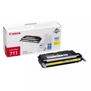 CRG-711Y Lézertoner i-SENSYS LBP 5300 nyomtatóhoz, CANON, sárga, 6k